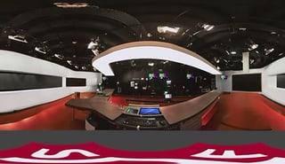 Ein Blick ins Tagesschau-Studio