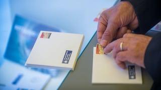 Die neuesten Zahlen der Post zeigen: Briefe bleiben ein Auslaufmodell. Im Jahresvergleich sind die Umsätze erneut stark gesunken.