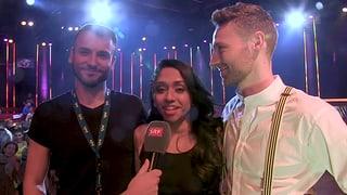 Tama Vakeesan, Sven Epiney und Anita Buri sind im Halbfinal  (Artikel enthält Video)