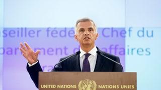 «Für Syrien gibt es nichts ausser der UNO»