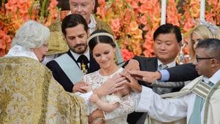 Der kleinste Royal ganz gross: Taufe von Prinz Alexander