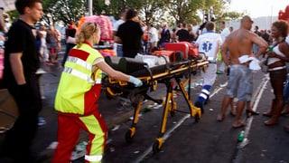 Street-Parade: Rekordaufgebot an Rettungskräften