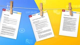 Merkblätter und Musterbriefe