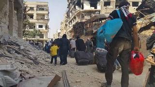 Der Syrien-Krieg – eine Chronologie