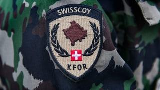 Swisscoy-Einsatz wird um drei Jahre verlängert