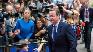 David Cameron zeigt sich vor EU-Gipfel konziliant