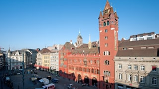 Basler FDP will Anzahl der Departemente reduzieren
