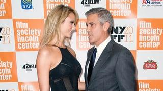 George Clooney: erster offizieller Auftritt mit sexy Stacy