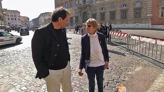 Papst entschuldigt sich bei zwei Schweizer Missbrauchsopfern