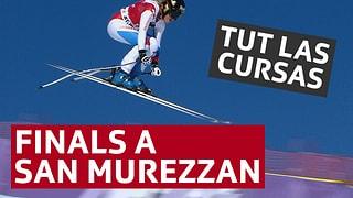 Finals a San Murezzan Tuts rapports dals finals da la cuppa mundiala da skis