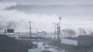 Taifun «Lionrock» tutga regiun enturn Fukushima