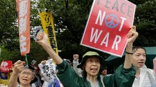 Japan: Gesetzesreform ebnet Weg für militärische Auslandeinsätze