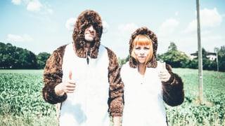 Festival-Challenge: Im Bärenkostüm auf den Gurten