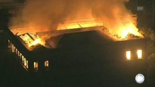 Incendi en il museum naziunal a Rio