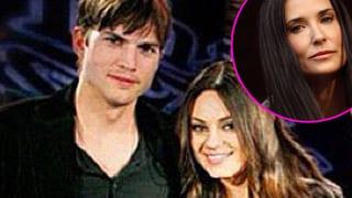 Wegen Ashton Kutcher & Mila Kunis: Demi Moore am Boden zerstört