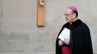 Pink Cross na tira betg vinavant il cas da l'uvestg Vitus Huonder