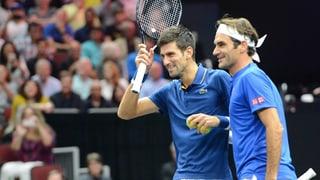 Djokovic schiesst Doppelpartner Federer ab