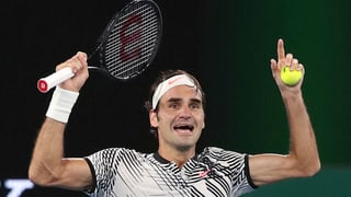 Roger Federer en il 18avel tschiel