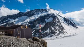 Konkordiahütte, VS (Artikel enthält Video)