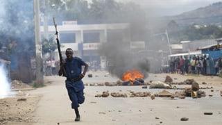 Gewaltsame Proteste in Burundi