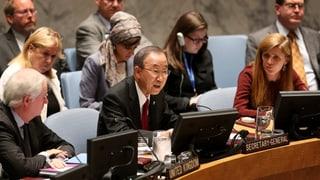 Ebola ist «Bedrohung des weltweiten Friedens»