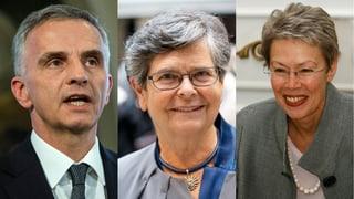 Die Nominierten in der Kategorie «Politik»