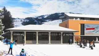 Plans per hotel a Savognin daventan pli concrets