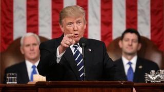 Appel ad optimissem ed armonia – Trump davant il congress