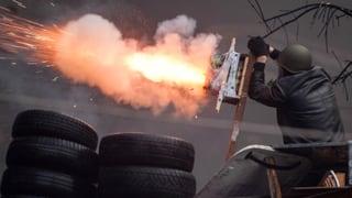 Blutiger Tag in Kiew