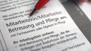 Ausbildungszwang für Aargauer Pflegeinstitutionen