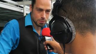 Flüchtlinge und Migranten machen Radio am Lucerne Festival