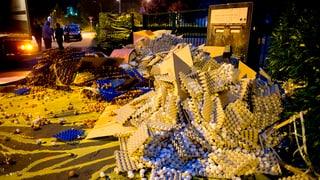 Protestaktion: In Frankreich liegen die Eier auf der Strasse
