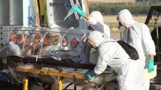 Ebola: Aargauer und Solothurner Spitäler sind vorbereitet
