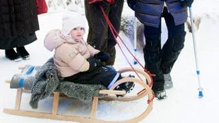 Jöööö: Royaler Schlittelspass mit Prinzessin Estelle