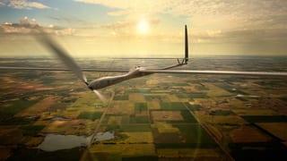 Google-Drohne soll Internet in die Wüste bringen