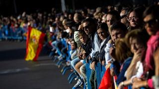 Tausende demonstrieren für Spaniens Einheit