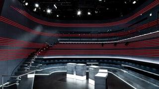 Publikumsplätze Studioplätze
