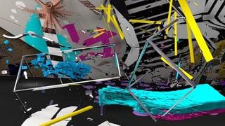 Alles so schön falsch hier: Festival der digitalen Kunst