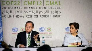 Das sind die konkreten Schritte, mit denen die Mitglieder der Weltklimakonferenz dem Klimawandel begegnen wollen.