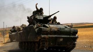 Türkei beschiesst Kurden in Syrien – erste türkische Opfer