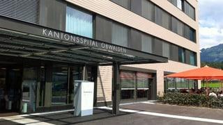 Gute Auslastung des Obwaldner Kantonsspitals