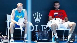 Cilics Schlachtplan, um Federer zu schlagen