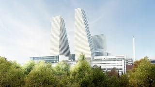Roche investiert 3 Milliarden Franken und baut 205-Meter-Hochhaus