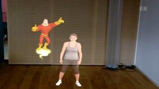Billigere Kniebeugen mit Avatar statt Therapeut (Artikel enthält Video)