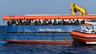 «Sea Watch 3» darf mit 47 Migranten an Land gehen