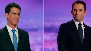Hamon und Valls liegen vorn