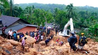 Erdrutsche und Hochwasser in Sri Lanka und Thailand