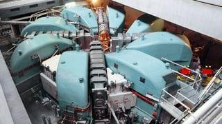 Der grosse Protonenbeschleuniger am PSI wird 40