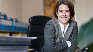 Petra Gössi ist neue Parteipräsidentin der FDP