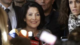 Georgien hat erstmals eine Präsidentin